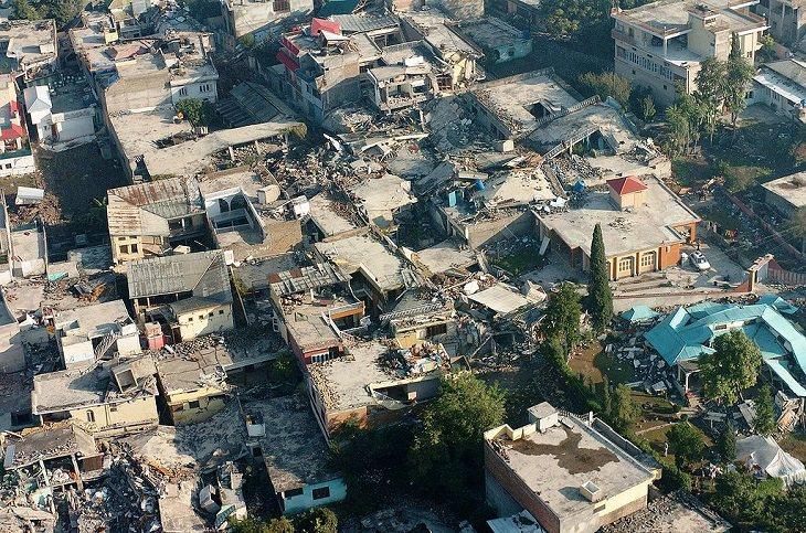 Desastres naturales Terremoto de Cachemira, 8 de octubre de 2005