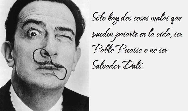 las mejores citas de Salvador Dalí cita sobre Picasso