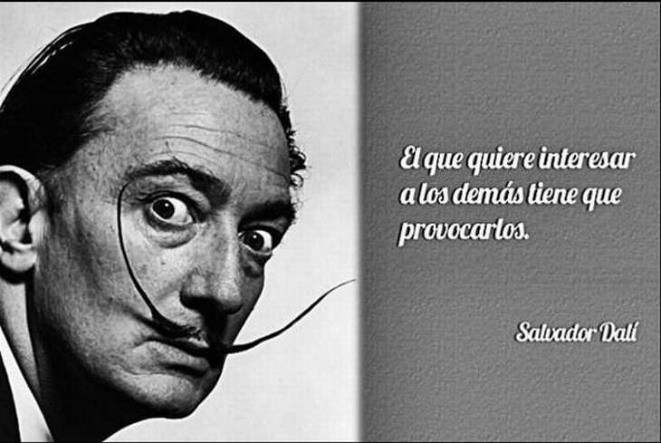 las mejores citas de Salvador Dalí interesar a los demás