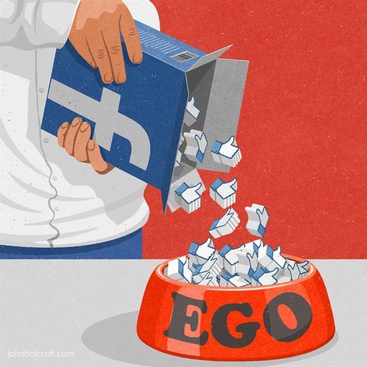 Ilustraciones Satíricas De La Vida Moderna Facebook