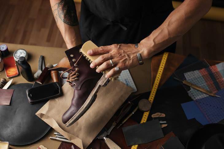 como limpiar tus botas de gamuza