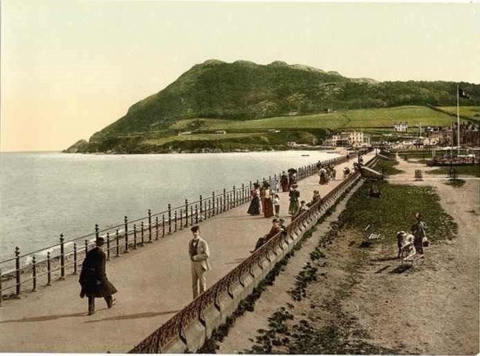 Imágenes De Irlanda De Hace 120 Años Paseo marítimo de Bray