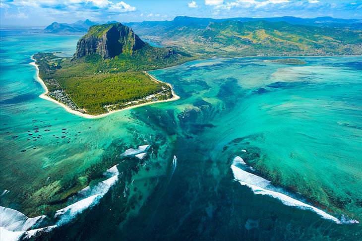 Imágenes de la naturaleza que nos engañan Costa Mauricio