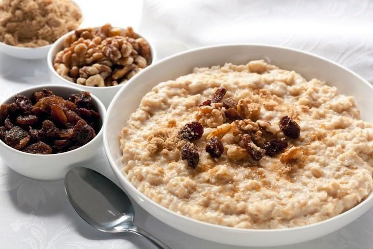 cómo mantener una dieta saludable durante al cuarentena Avena