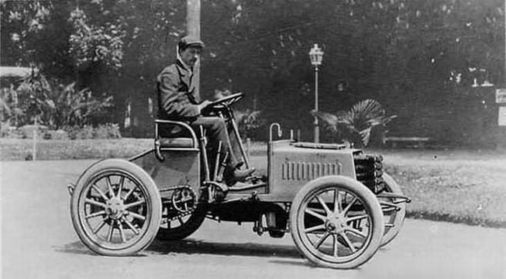 Historia de los autos bugatti 1901-1909: Los primeros días