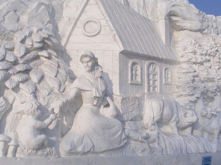 2. Cuentos populares finlandeses en el Festival Internacional de Escultura de Hielo y Nieve de Harbin