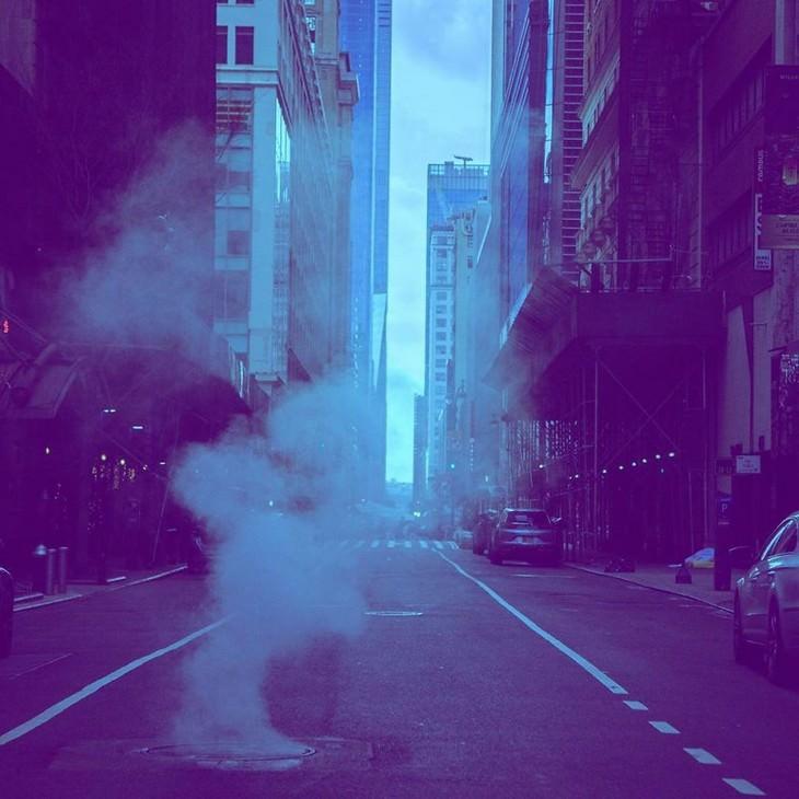 Fotos Nueva York Durante Covid-19  Un lunes excepcionalmente tranquilo