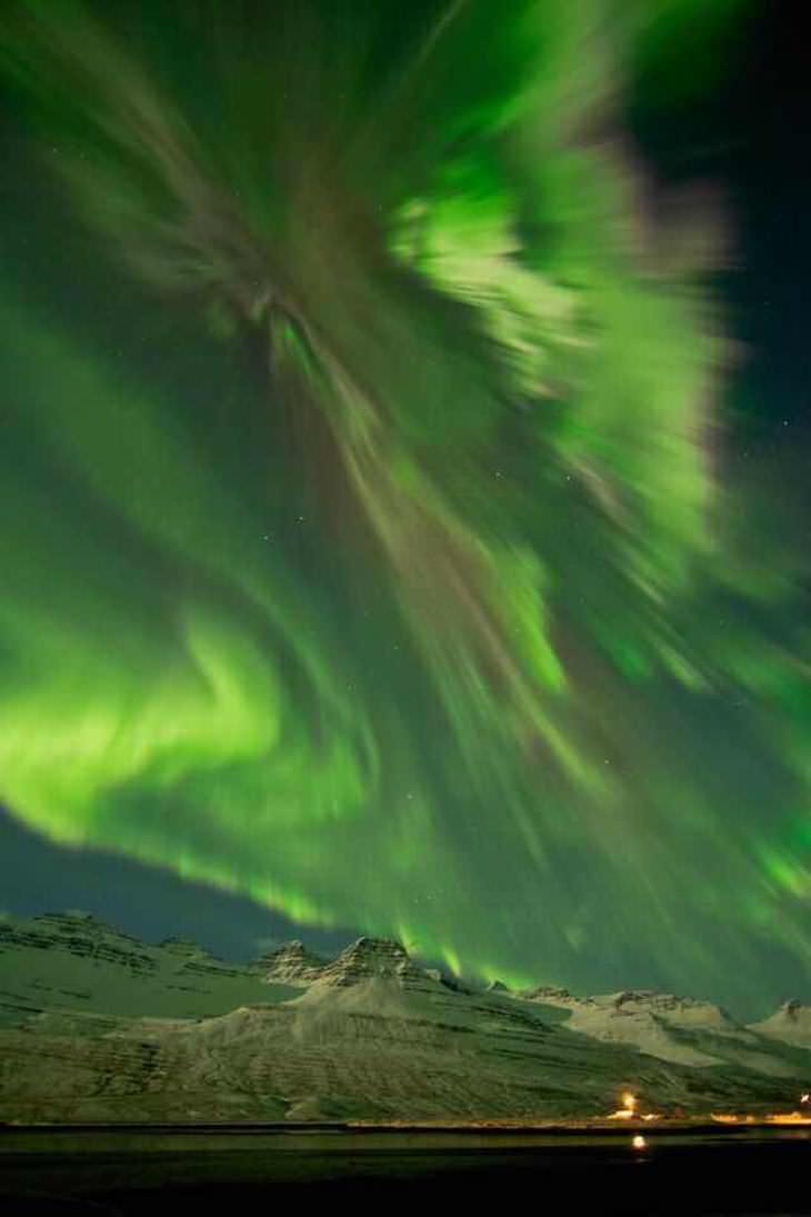 La aurora boreal más increíble