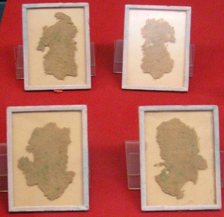 Inventos dinastía Han La invención del papel