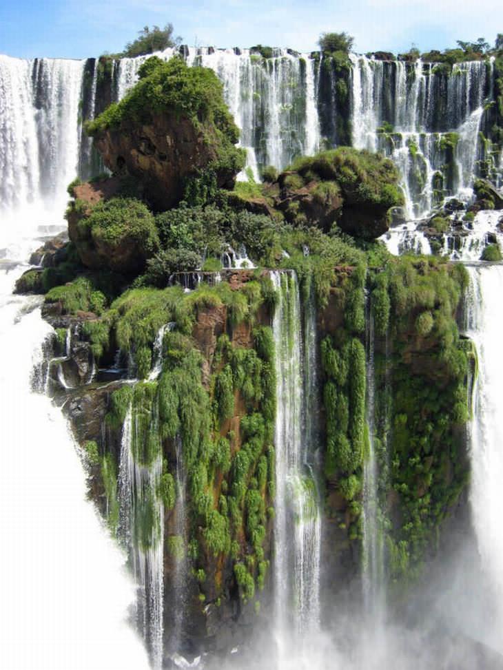 Las Cataratas del Iguazú en Argentina