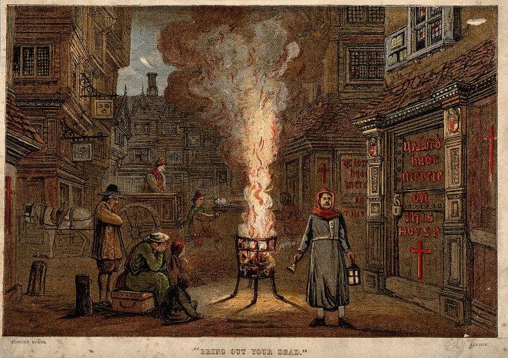 Pandemias que se detuvieron La gran plaga de Londres (1665-1666)