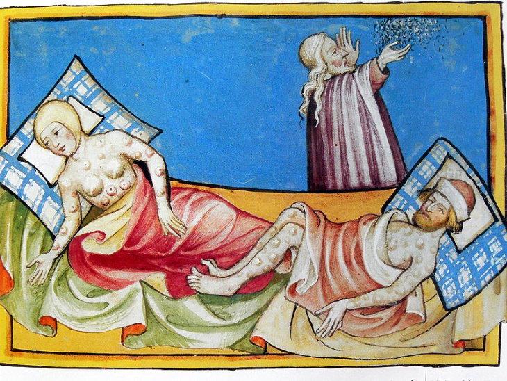 Pandemias que se detuvieron La muerte negra (1347-1351)