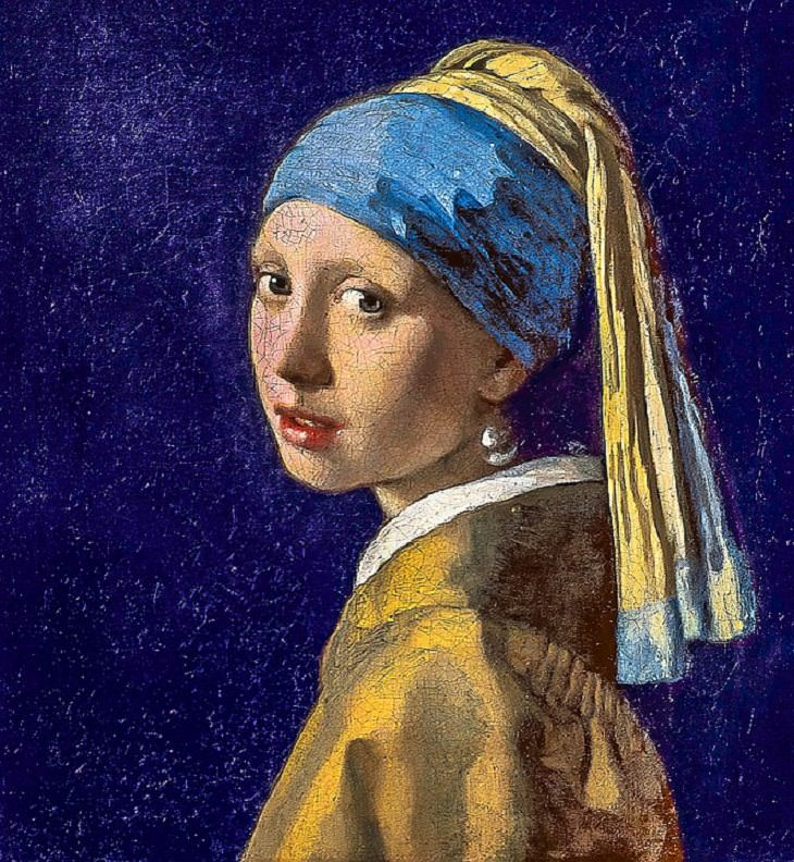Historia de obras de arte La joven de la perla