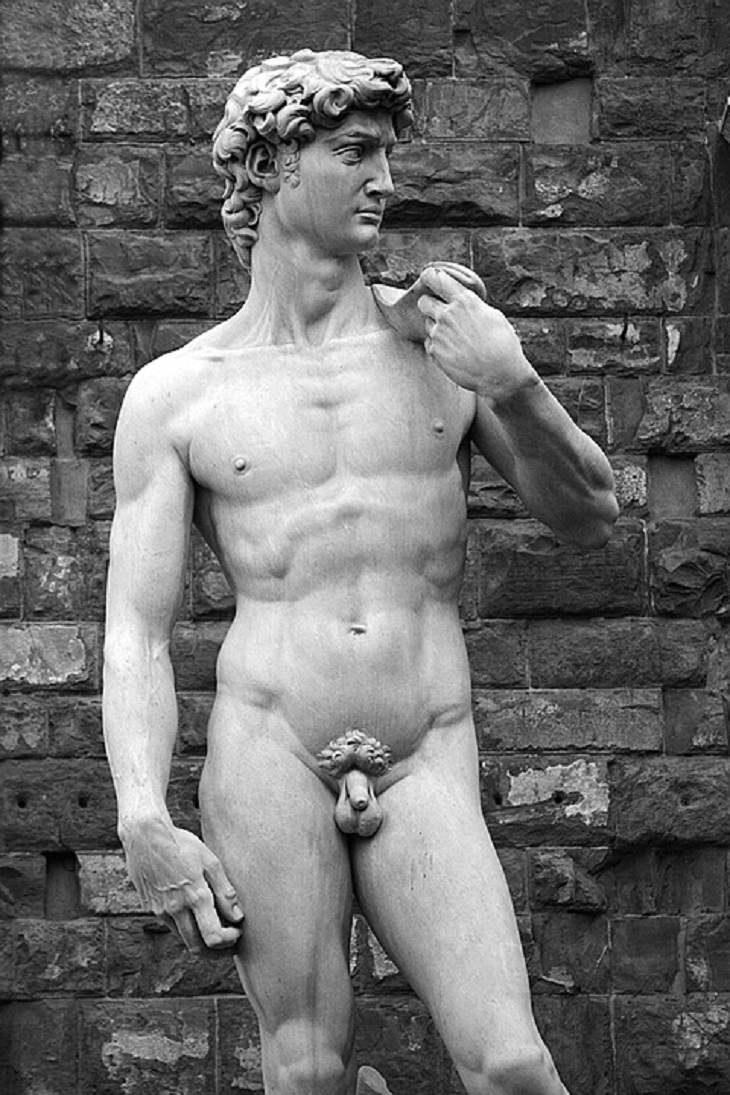 Historia detrás de obras de arte David de Miguel Ángel
