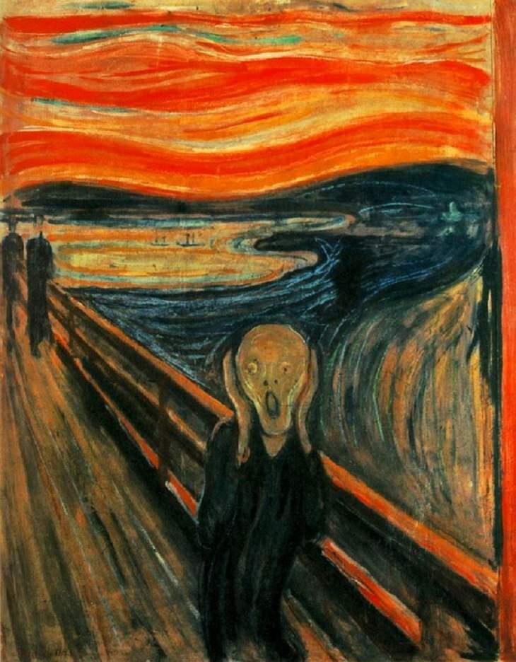 Historia detrás de obras de arte  El grito