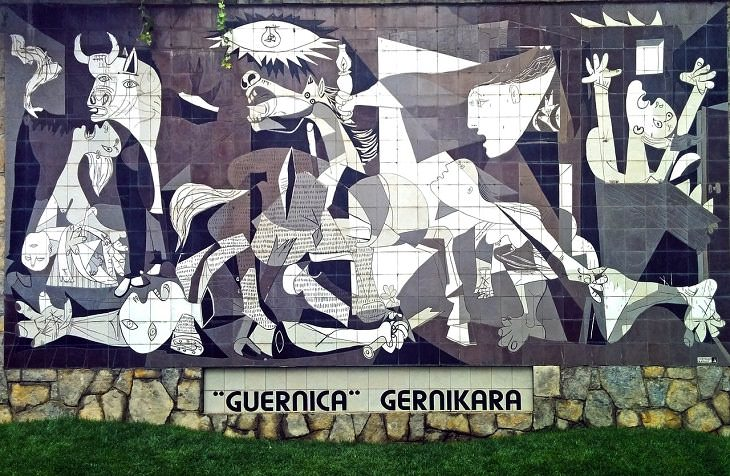 Historia detrás de obras de arte Guernica
