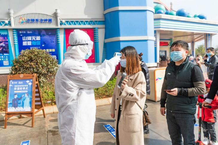 Revisión de la temperatura en Disneyland Shanghai en China