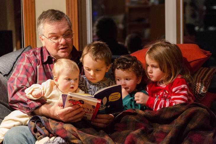 Cómo ayudar a desarrollar el cerebro de tus hijos leerles un cuento