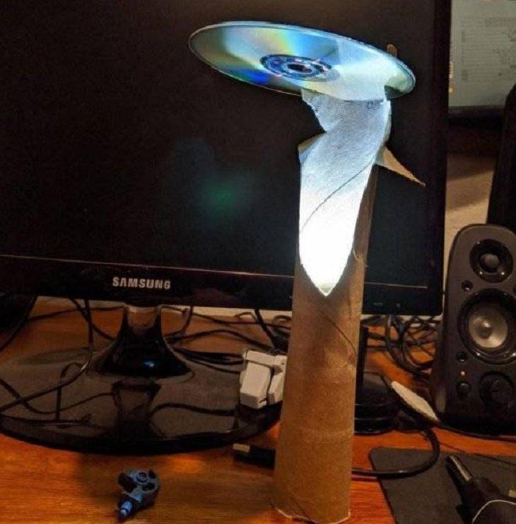 Ingeniosas y divertidas reparaciones caseras luz LED lámpara