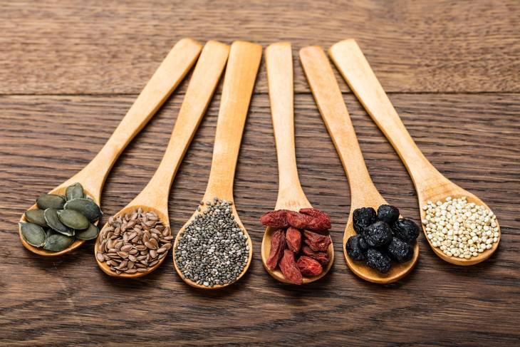 Beneficios de la quinoa Alto en fibra