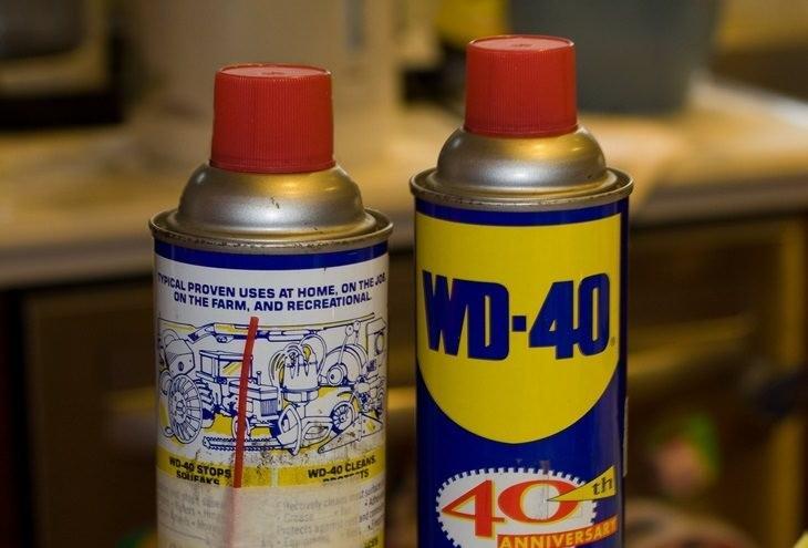 2. Spray de aceite para eliminar manchas