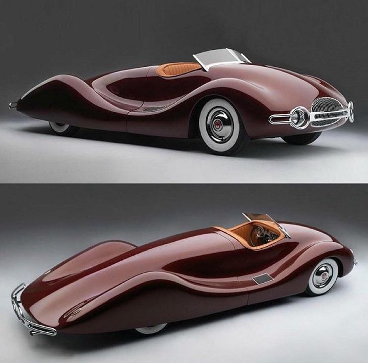 Diseños de autos extraños 1948 Norman Timbs Special (Destruido en2018)