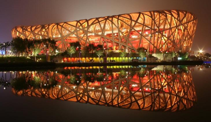 Obras Arquitectónicas Inspiradas en la Naturaleza Estadio Nacional de Beijing en Beijing, China por Herzog & de Meuron