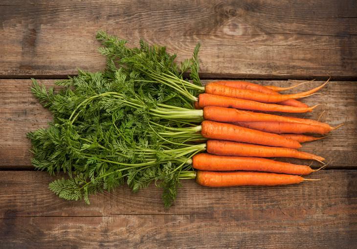 7 beneficios zanahorias que no conoces
