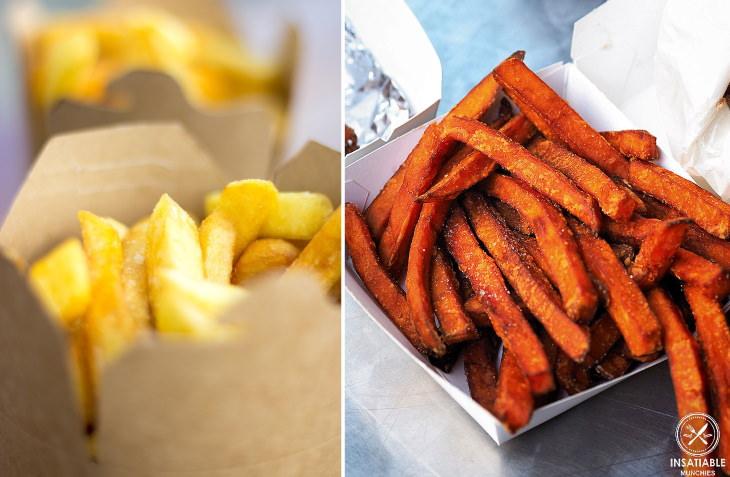 Papas o batatas ¿cuáles son más saludables? Papas fritas y batatas fritas
