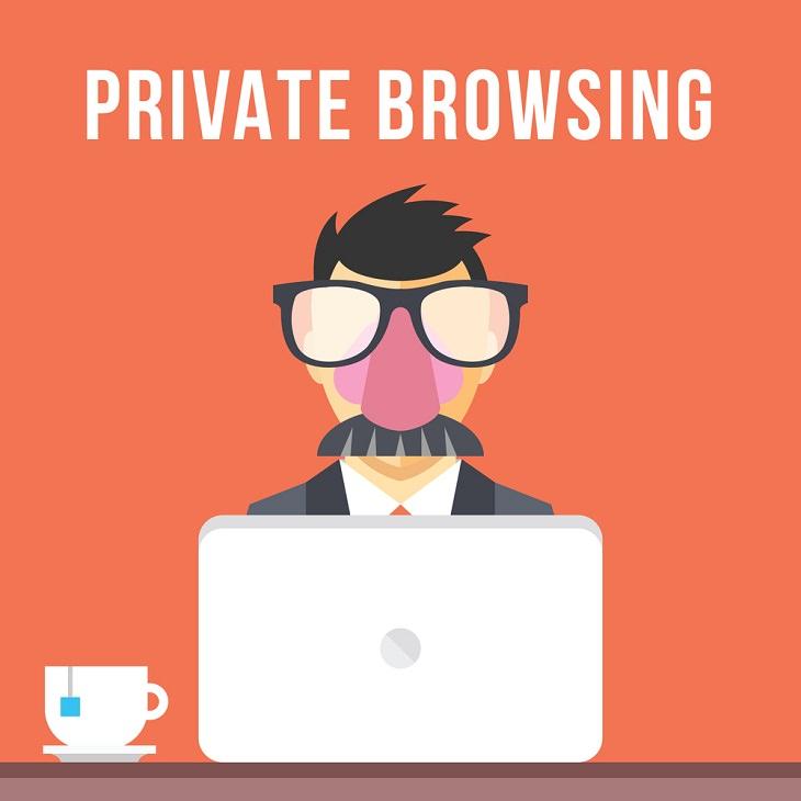 Mito Sobre Tecnología El modo de navegación privado / incógnito mantiene la actividad de tu computadora anónima