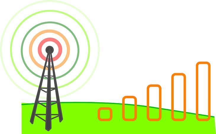 Mito sobre tecnología Más barras en tu teléfono móvil significan un mejor servicio