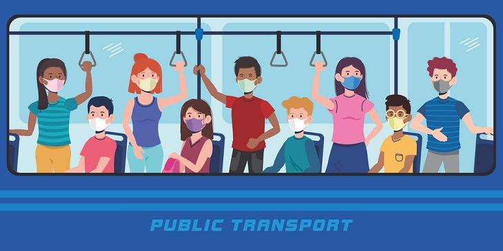 Disminuir El Riesgo De COVID-19 En El Transporte Público
