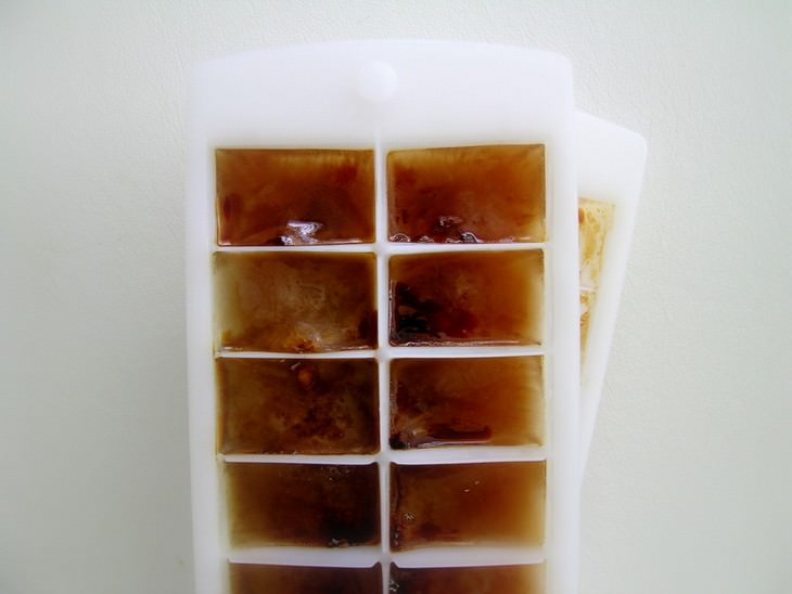 2. Cubitos de hielo de café