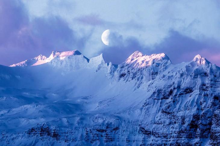 La Belleza De Islandia en 15 fotos luna de la mañana