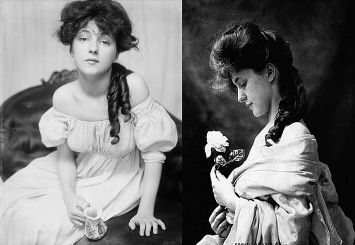 Las Primeras Supermodelos De La Historia Evelyn Nisbet