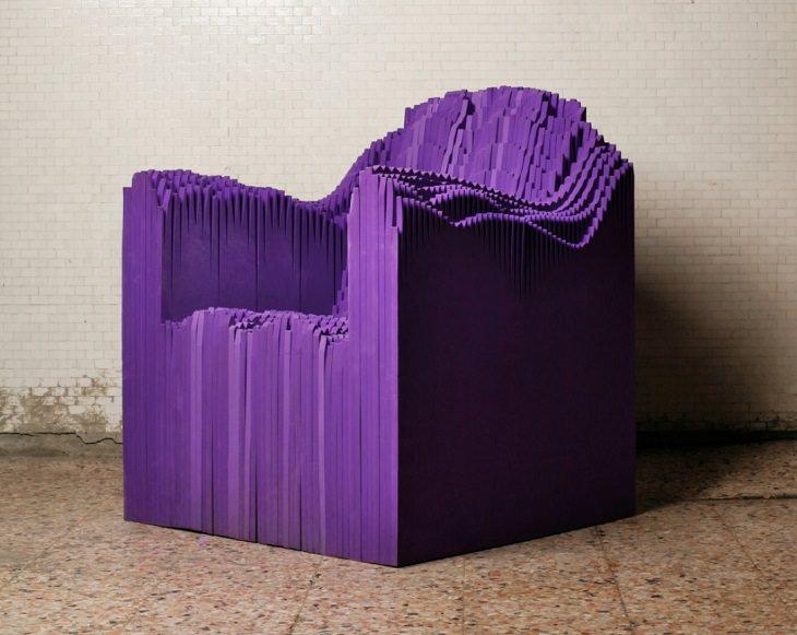 El Magnífico Arte En 3-D De Matthew Plummer Fernandez sillón del sonido