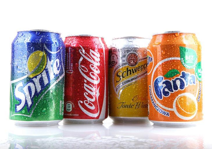 Cosas que no debes de beber antes de hacer ejercicio bebidas carbonatadas