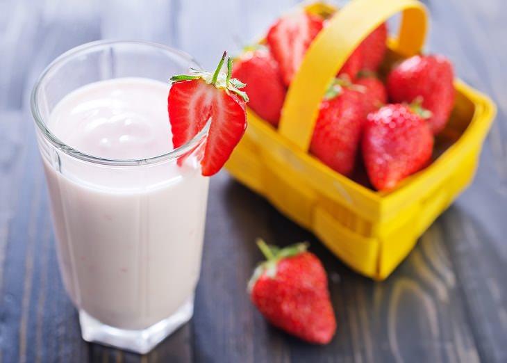 Cosas que no debes de beber antes de hacer ejercicio bebidas a base de leche