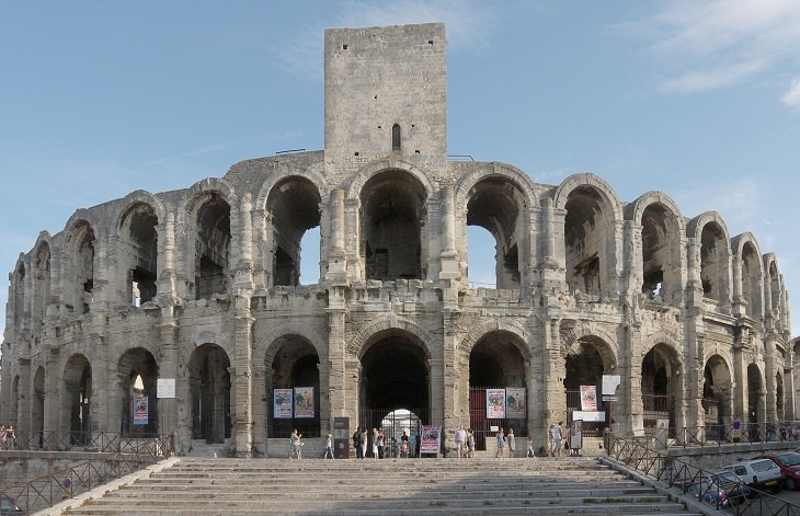 Sitios Antiguos Que Han Sobrevivido Al Paso Del Tiempo  Anfiteatro Arles, Francia