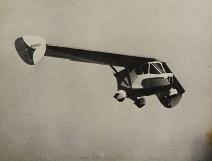 Autos Voladores Más Increíbles y Únicos Del Mundo Waterman Aerobile