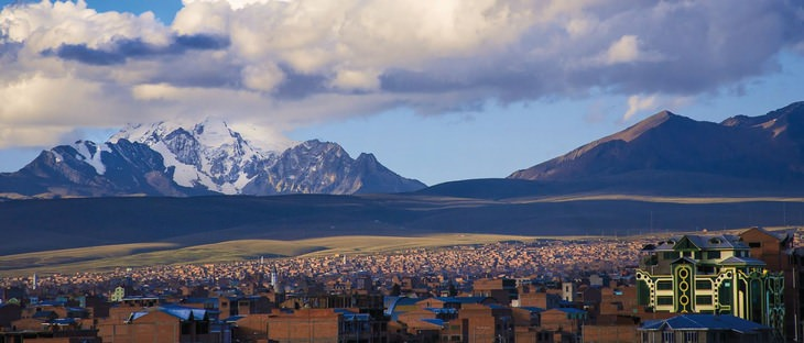El Nuevo Estilo De Arquitectura Andina De Bolivia Vista panorámica de Bolivia