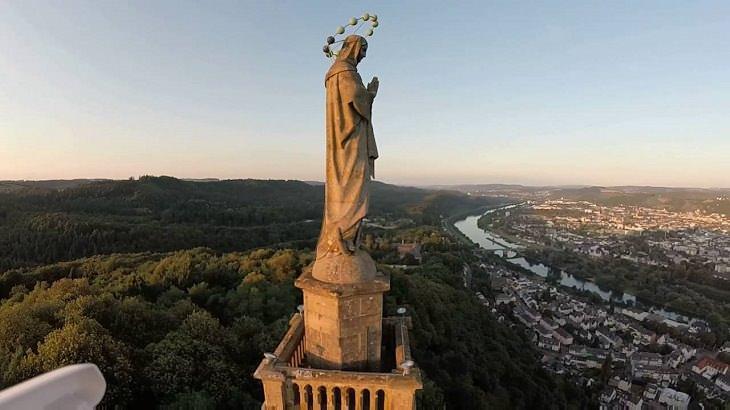 Un Recorrido Fotográfico Por Trier En Alemania Vista panorámica de la ciudad