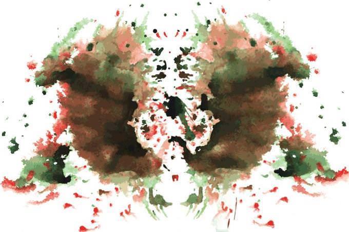 Rorschah inkblot