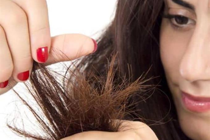punta de un cabello