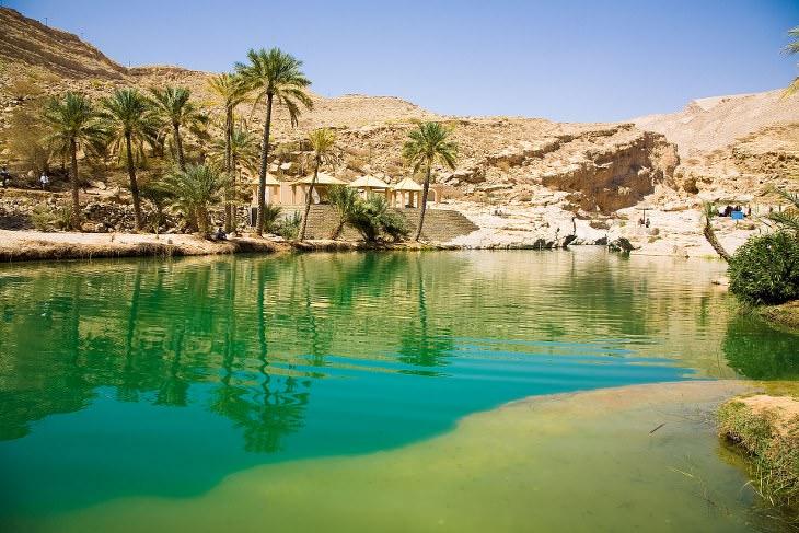 Oasis Más Hermosos De Todo El Mundo Wadi Bani Khalid (Omán)