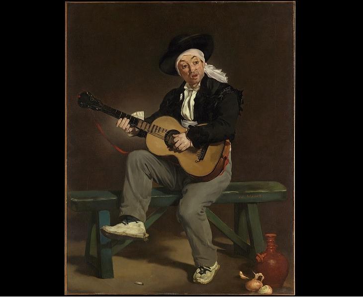 Arte Impresionista De Édouard Manet El cantante español, 1860