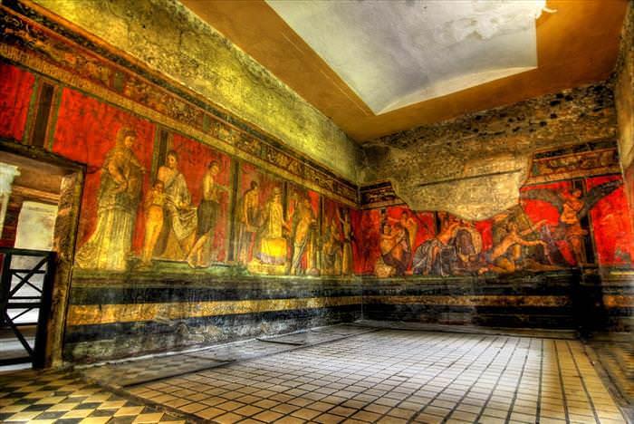 Lo Que Debes Ver En Las Ruinas De Pompeya Villa dei Misteri en su interior