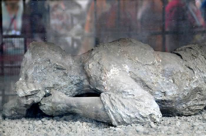 Lo Que Debes Ver En Las Ruinas De Pompeya Moldes de yeso