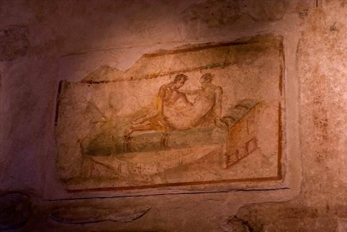 Lo Que Debes Ver En Las Ruinas De Pompeya Lupanar