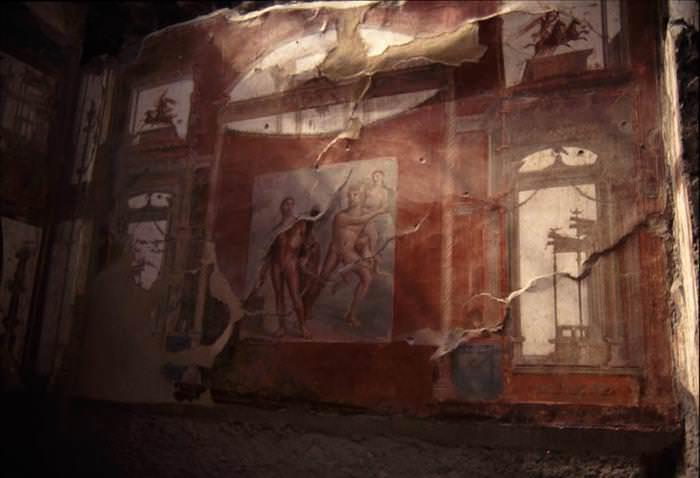Lo Que Debes Ver En Las Ruinas De Pompeya frescos hermosos Casa de los Vetti